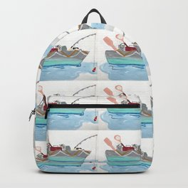 Fishing Boat Backpack