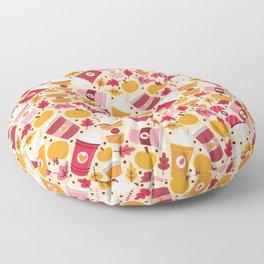 Pumpkin Spice Love Floor Pillow