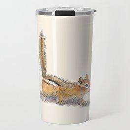 Curious Chipmunk Travel Mug