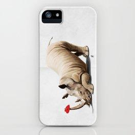 Horny (Wordless) iPhone Case