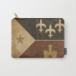 Acadian Flag Carry-All Pouch