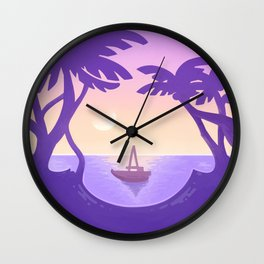Sirena Summer Wall Clock