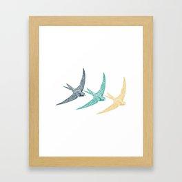Bird Native birds songbird swallow gift Framed Art Print