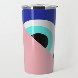 Devil eye pink hide Travel Mug
