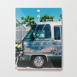 An Airstream  Metal Print