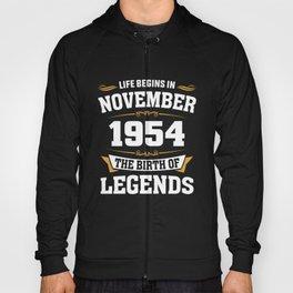 November 1954 64 the birth of Legends Hoody