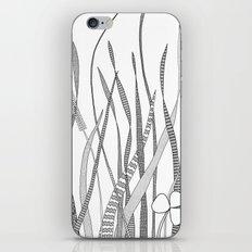 Summer Grass B&W iPhone & iPod Skin