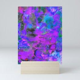 Color Cracking Mini Art Print