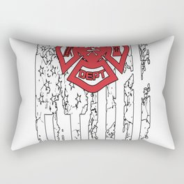 American Firefighter Rectangular Pillow