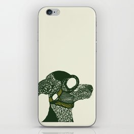 Dog likes to fly planes iPhone Skin