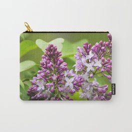 Lilac Flowers Carry-All Pouch