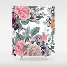 FLOWERS VIII Shower Curtain