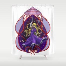 Yukari's Umbrella Shower Curtain
