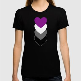 Asexuality in Shapes T-shirt