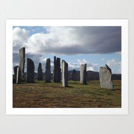 Standing Stones Art Print