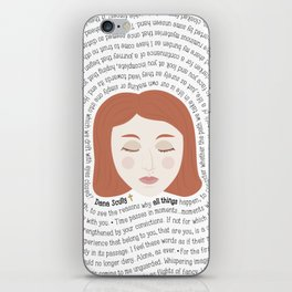 Dana Scully - XF Quotes iPhone Skin