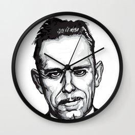 John Dillinger Mug Shot Wall Clock
