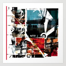 Collage 1 Art Print