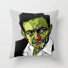J.Cash Throw Pillow