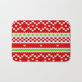 Christmas Sweater Bath Mat