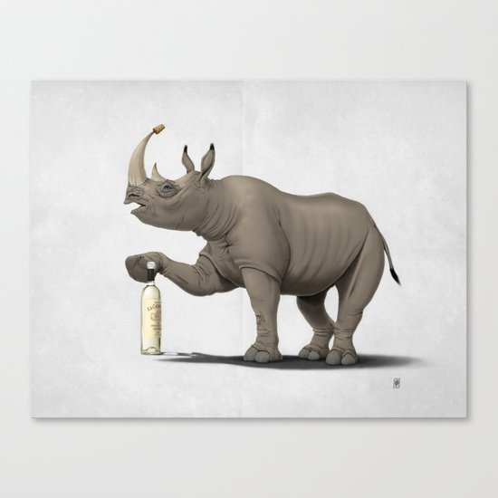 Cork it, Dürer! [HD] (Wordless) Canvas Print