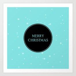 Centred Christmas Art Print