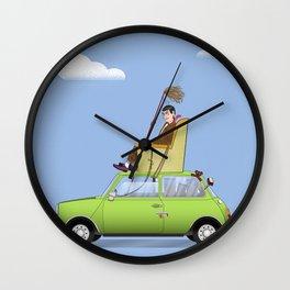 Mr Bean Wall Clock