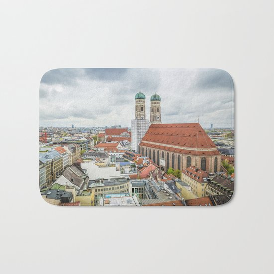 The Cathedral of Munich Bath Mat