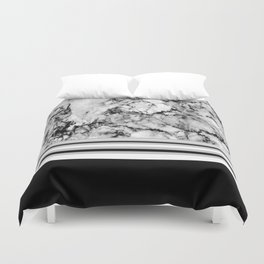 Stone Stripe Duvet Cover