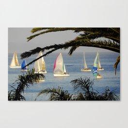 regatta night Canvas Print