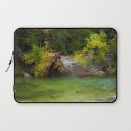 Trunk in soft waters Laptop Sleeve