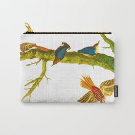 Brown Creeper Bird Carry-All Pouch