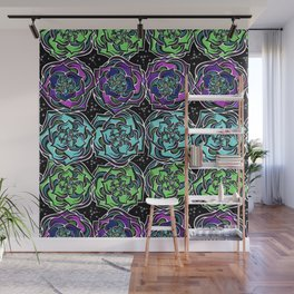 Succulence On Parade Wall Mural