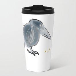 Black Crow Travel Mug