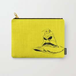 Sorting Hat Yellow Carry-All Pouch