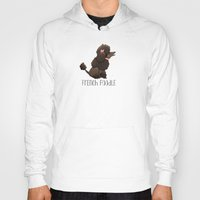 poodle Hoodies featuring Poodle by 52 Dogs