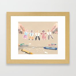 You Are My People Framed Art Print