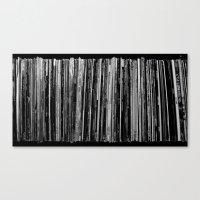 vinyl Canvas Prints featuring Vinyl by Derek Delacroix
