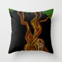 Arbol 003 Throw Pillow
