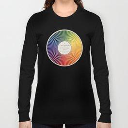 Chevreul Cercle Chromatique, 1861 Remake, renewed version Long Sleeve T-shirt