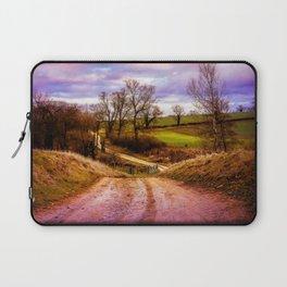 Winter Landscape Laptop Sleeve