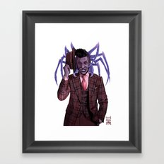 MR NANCY Framed Art Print