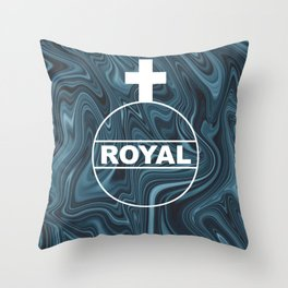 ABSTRACT LIQUIDS XVI Throw Pillow