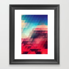 skylyyn crysh tyst Framed Art Print