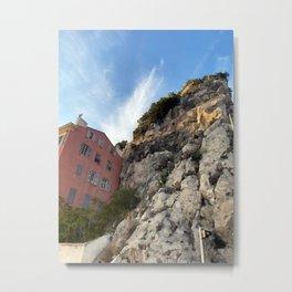 French Riviera Nice Metal Print