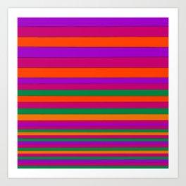 Stripe2 Art Print