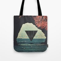 portal Tote Bags featuring Portal by maysgrafx