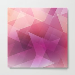 Pattern Color Combinations Metal Print
