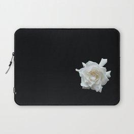 Gardenia on Black DPG150524 Laptop Sleeve