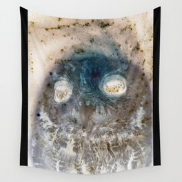 Owl Negative Wall Tapestry